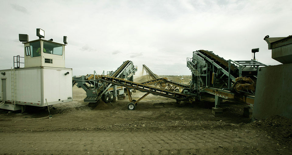 Rock, Aggregate and Material Conveyors