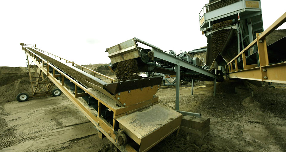 Rock Aggregate And Material Conveyors