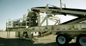 Telsmith Cone Crusher on Chassis