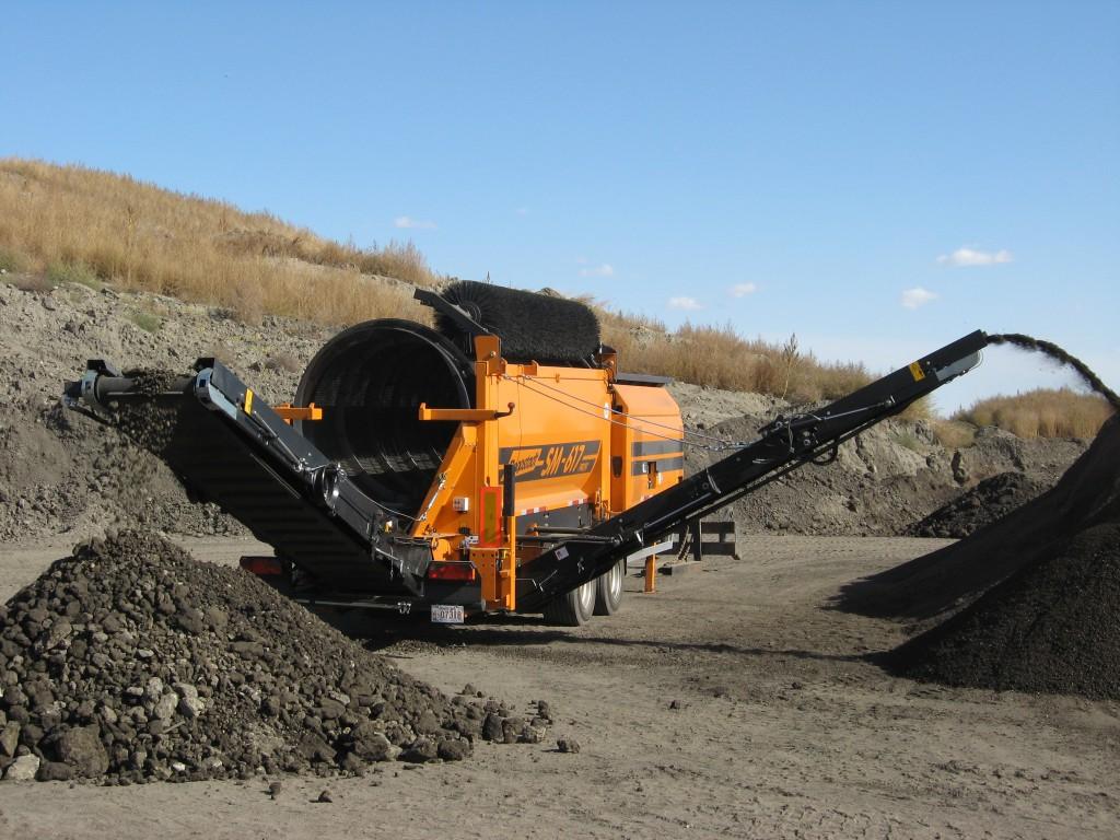 Screeners for Topsoil screener